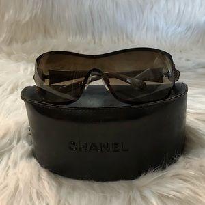 c0a1e25cf5 Women s Chanel Camellia Sunglasses on Poshmark